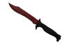 ★ Bowie Knife | Crimson Web (Well-Worn)