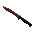 ★ StatTrak™ Bowie Knife | Crimson Web <br>(Well-Worn)