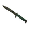 ★ StatTrak™ Bowie Knife | Boreal Forest <br>(Well-Worn)
