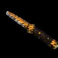 ★ Stiletto Knife   Tiger Tooth <br>(Minimal Wear)