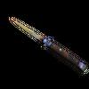★ Stiletto Knife | Case Hardened <br>(Well-Worn)
