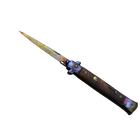 ★ Stiletto Knife | Case Hardened (Field-Tested)