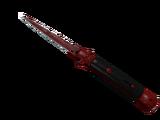 ★ Stiletto Knife | Crimson Web (Field-Tested)