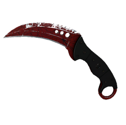 ★ StatTrak™ Talon Knife | Crimson Web (Field-Tested)