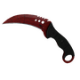 ★ StatTrak™ Talon Knife | Crimson Web (Minimal Wear)
