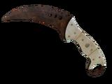 ★ Talon Knife   Rust Coat (Battle-Scarred)