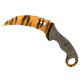 ★ Talon Knife | Tiger Tooth <br>(Minimal Wear)