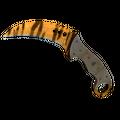 ★ StatTrak™ Talon Knife | Tiger Tooth <br>(Factory New)