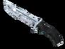 Huntsman Knife - Damascus Steel