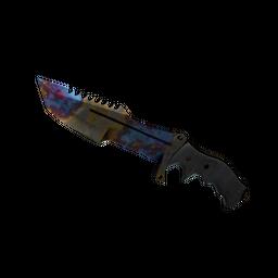 ★ Huntsman Knife | Case Hardened (Well-Worn)