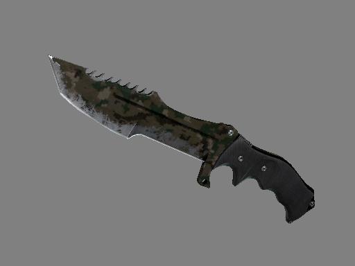 ★ Huntsman Knife | Forest DDPAT (Battle-Scarred)