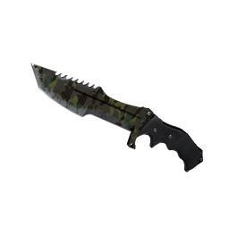 ★ Huntsman Knife | Boreal Forest (Battle-Scarred)