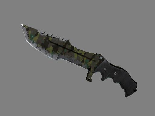 Скин ★ Охотничий нож | Северный лес (Закаленное в боях)