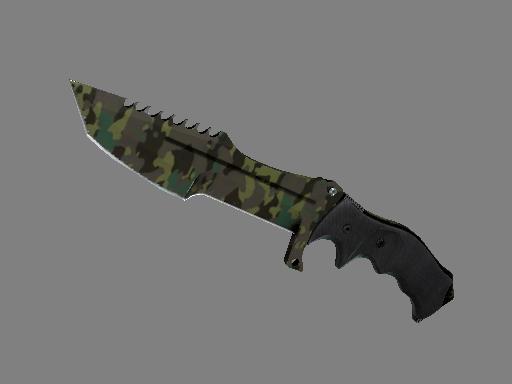 Скин ★ Охотничий нож | Северный лес (После полевых испытаний)