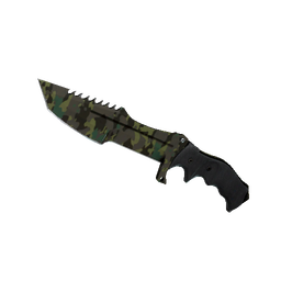 ★ StatTrak™ Huntsman Knife | Boreal Forest (Well-Worn)