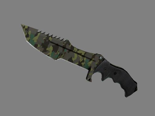 Скин ★ Охотничий нож | Северный лес (Немного поношенное)