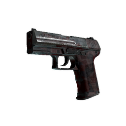 StatTrak™ P2000 | Red FragCam (Battle-Scarred)