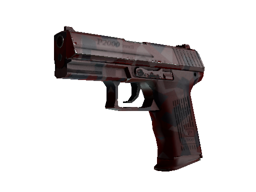 CS:GO Weapon 3 P2000 Red FragCam