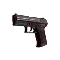 StatTrak™ P2000 | Red FragCam <br>(Well-Worn)