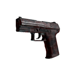 P2000 | Red FragCam (Well-Worn)