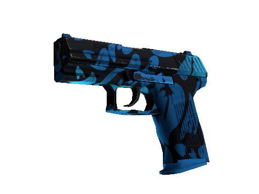 StatTrak™ P2000 | Oceanic (Battle-Scarred)