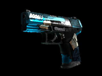StatTrak™ P2000 | Пистолет (Закаленное в боях)