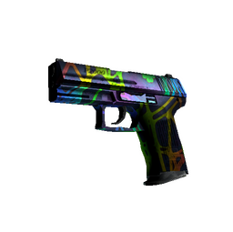 StatTrak™ P2000 | Acid Etched (Well-Worn)