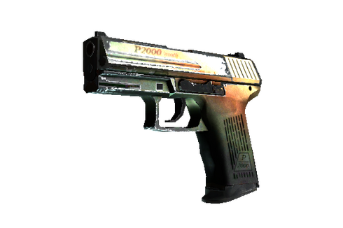 P2000 | Amber Fade (Well-Worn) Prices