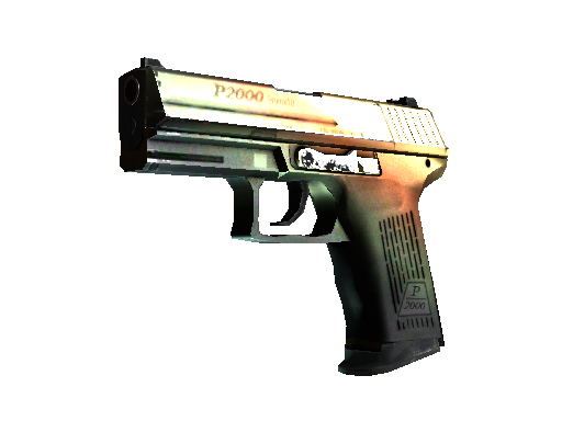 P2000 | Amber Fade Factory New