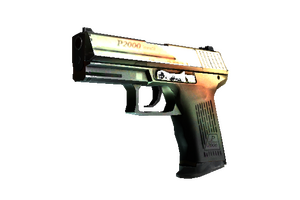 P2000 Amber Fade Factory New