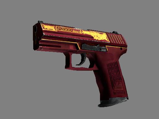 Revolver P2000 Imperial