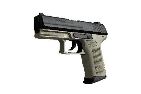 Buy StatTrak™ P2000 | Ivory (Well-Worn)
