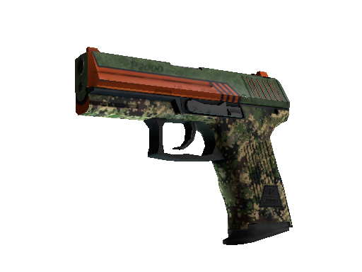 StatTrak™ P2000 | Woodsman (Battle-Scarred)