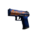 StatTrak™ P2000 | Fire Elemental <br>(Well-Worn)