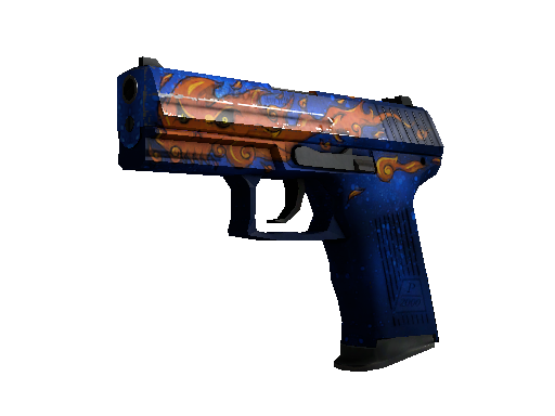 P2000 | Fire Elemental Well-Worn