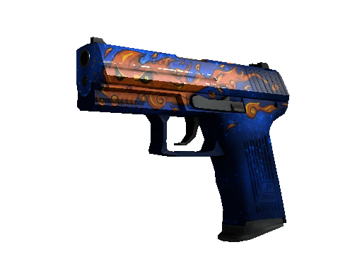 CSGO skin StatTrak™ P2000 | Fire Elemental (Factory New) on sale for 84.03