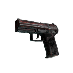 StatTrak™ P2000 | Urban Hazard (Battle-Scarred)