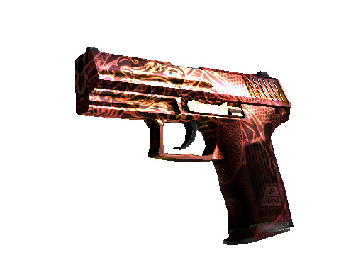 P2000 | Imperial Dragon Well-Worn