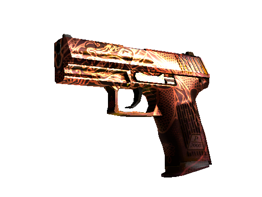 StatTrak™ P2000 | Imperial Dragon (Battle-Scarred)