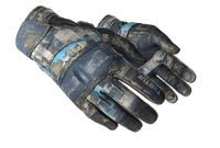★ Moto Gloves | Cool Mint (Battle-Scarred)