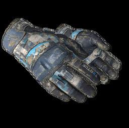★ Moto Gloves | Cool Mint (Battle-Scarred)