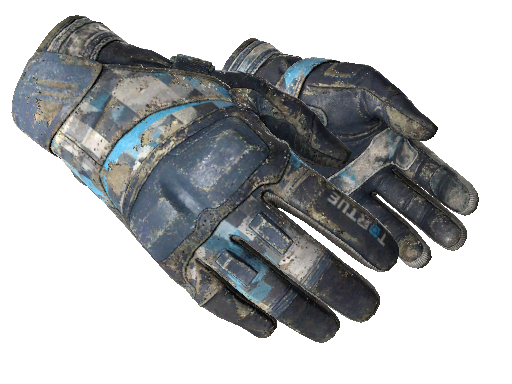★ Moto Gloves | Cool Mint Battle-Scarred