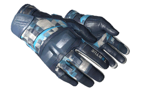 Moto Gloves Cool Mint Minimal Wear