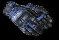 ★ Moto Gloves   Polygon (Battle-Scarred)