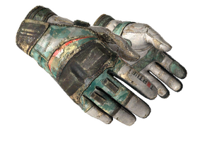 Moto Gloves Spearmint Battle Scarred