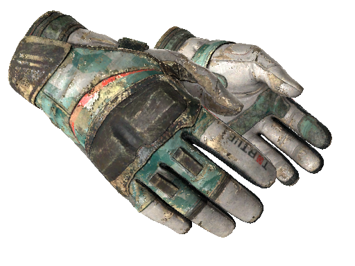 ★ Moto Gloves | Spearmint Battle-Scarred