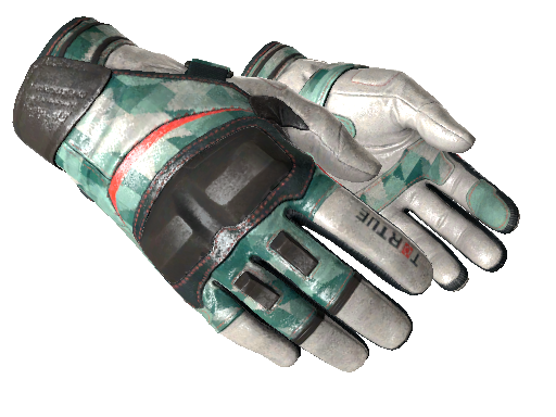 ★ Moto Gloves | Spearmint (Minimal Wear)