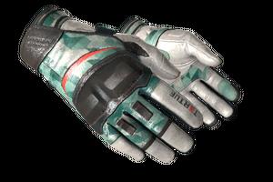 Moto Gloves Spearmint Minimal Wear