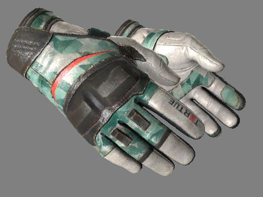 ★ Moto Gloves   Spearmint