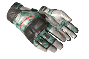 Moto Gloves Spearmint Field Tested